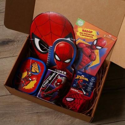 Подарочный набор человек паук